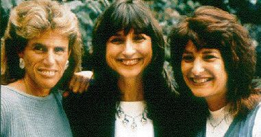 Elizabeth Glazer, Susan DeLaurentis, and Susie Zeegen - Founders of the Elizabeth Glazer Pediatric AIDS Foundation