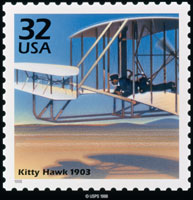 PHOTO: The Wright Brother's Kitty Hawk