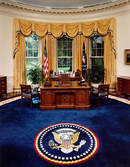 president oval office. the oval office president e