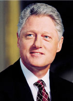 Photo: President Bill Clinton