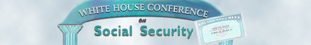 White House Conference on Social Security